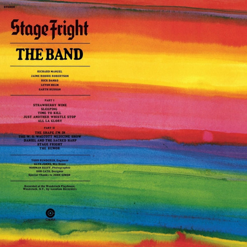The-Band-Stage-fright